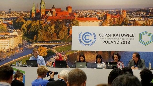 Diskusi 'Peran Hutan Hujan dalam Mengurangi Pemanasan Global'  COP24, Katowice, Polandia