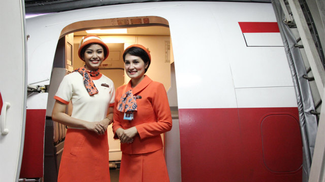 Garuda Indonesia Vintage Flight Experience