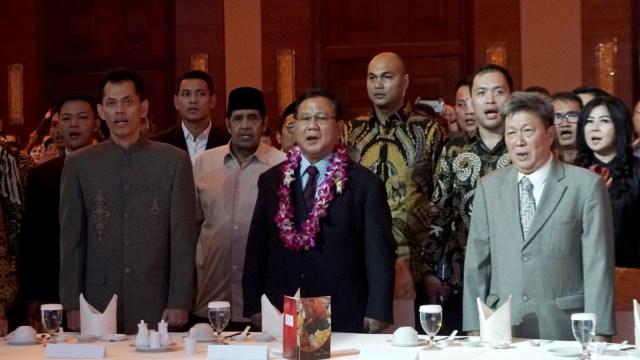 Prabowo Subianto, Gala Dinner, Pengusaha Tionghoa