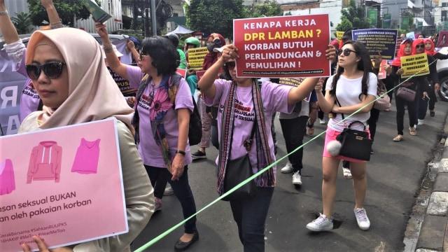Kelompok Masyarakat Pendukung Pengesahan RUU Pengesahan Kekerasan Seksual