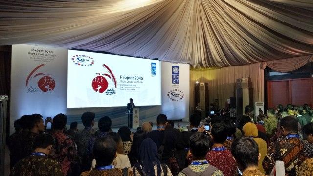 Jusuf Kalla Hadiri Seminar Tingkat Tinggi Project 2045 Indonesia-Jepang