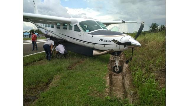 Pesawat Susi Air Angkut 11 Penumpang Tergelincir di Mappi, Papua (84289)
