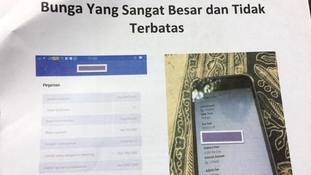 Selama 3 Pekan, LBH Jakarta Terima 1.330 Aduan soal Pinjaman Online (205766)