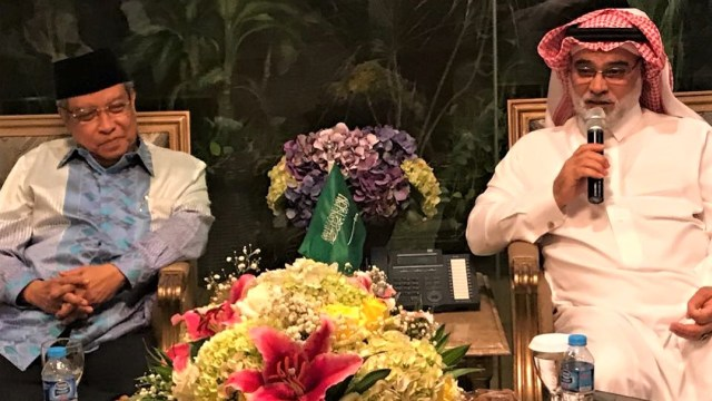 LIPSUS CUITAN SESAT DUBES ARAB, Pertemuan Dubes Saudi, Osama, Ketum PBNU, Said Aqil Siraj