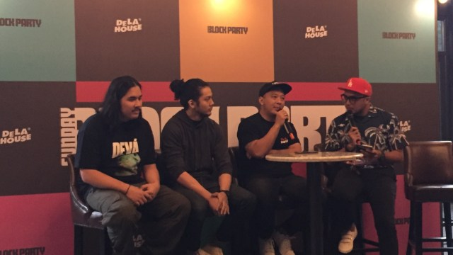 Konferensi Pers Sunday Block Party 2018
