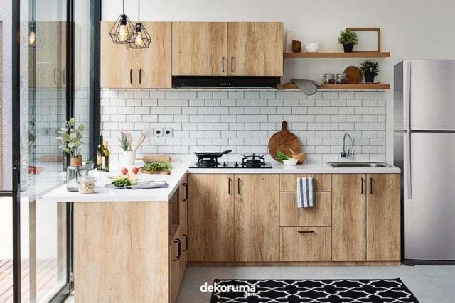 Ingin Hemat Saat Renovasi Dapur? Kenali Pilihan Bahan Kitchen Set Ini! (12516)