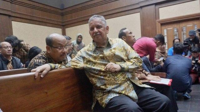 Direktur utama PT PLN Sofyan Basir, di pengadilan Tipikor Jakarta