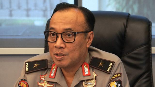 Polri: Penetapan Tersangka Ketua PA 212 Hasil Kajian Bersama Gakkumdu (11803)