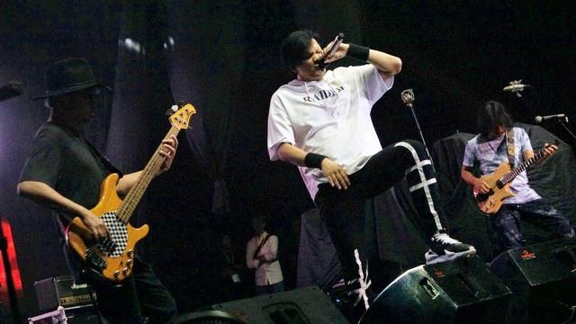 Band GIGI, World Music Festival 2018, Istora Senayan