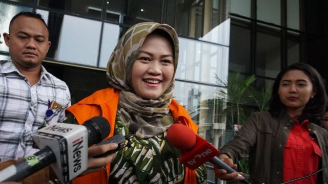 Bupati Bekasi nonaktif Neneng Hasanah, kpk