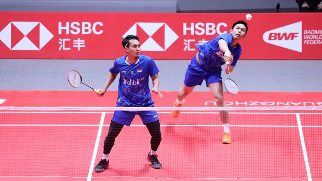 Ahsan/Hendra di BWF World Tour Finals