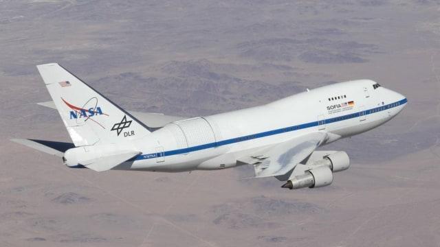 Observatorium terbang terbesar di dunia milik NASA, SOFIA