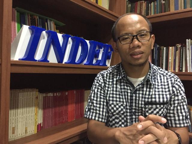 Wakil Direktur Indef, Eko Listiyanto