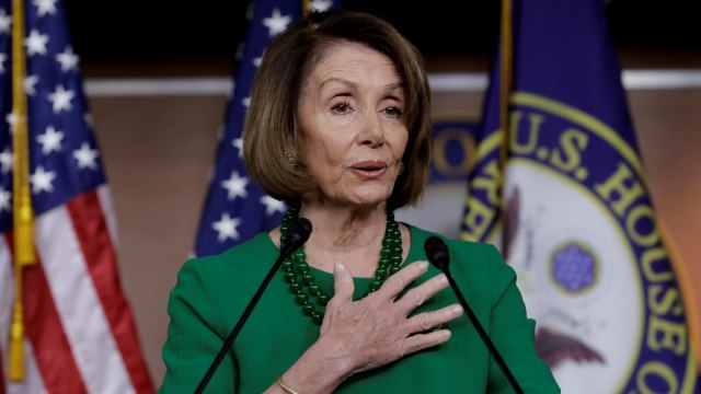 Politikus Demokrat Nancy Pelosi Pimpin Dewan Perwakilan AS (960764)