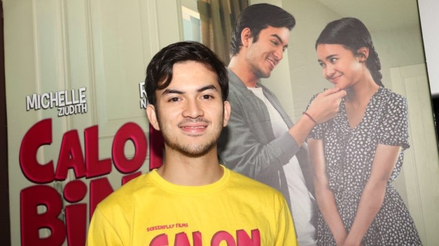 Pemain film Rizky Nazar, film 'Calon Bini'