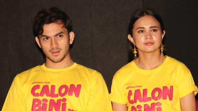 Pemain film Rizky Nazar, Michelle Ziudith, film 'Calon Bini'