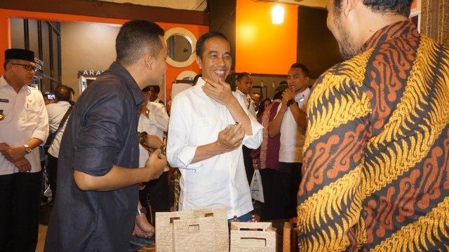 Presiden Jokowi, Ring Road Coffee di Aceh