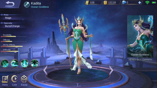 'Mobile Legends' Siap Rilis Hero Baru Kadita yang Mirip Nyi Roro Kidul (221192)