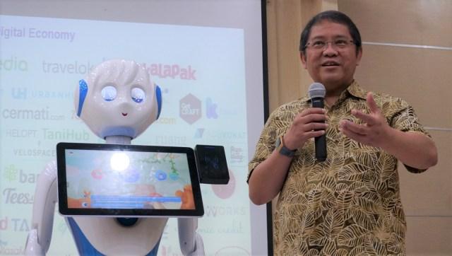 Menteri Komunikasi dan Informasi Rudiantara, Transformasi Robotics menuju Revolusi Industri 4.0