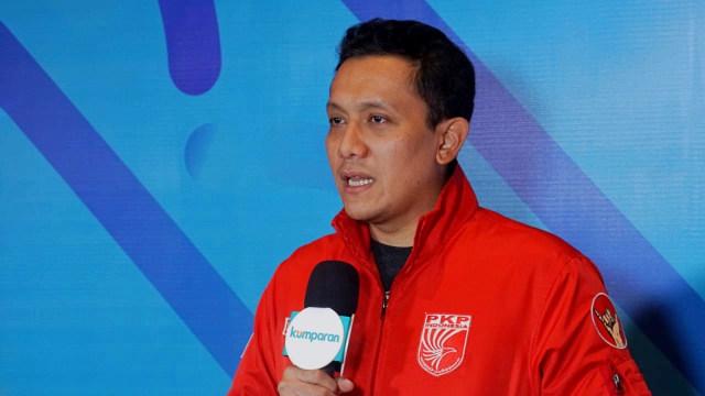 Peluncuran kumparan Pemilupedia, Hotel The Westin, Ketua Umum PKPI Diaz Hendropriyono