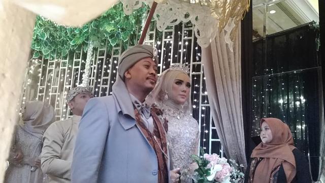 Resepsi pernikahan Opick dan Bebi Silvana