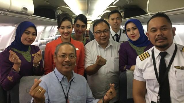 Cerai dari Garuda, Sriwijaya Air Angkat Dirut dan Direksi Baru (6325)