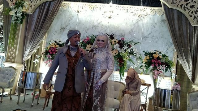 Pernikahan Opick dan Bebi Silvana