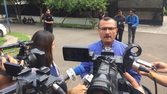 Kepala Divisi Advokasi dan Bantuan Hukum DPP Demokrat Ferdinand Hutahaean