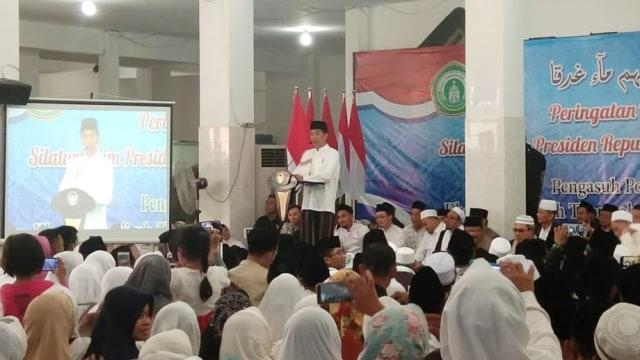 Joko Widodo, Ponpes Darul Ulum Jombang