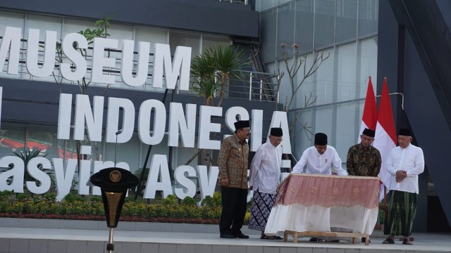 Presiden Joko Widodo, Museum Islam Indonesia KH Hasyim Asy'ari Jombang, Jawa Timur