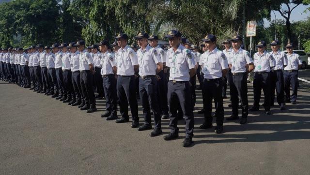 Menteri Perhubungan Budi Karya Sumadi, Upacara Bela Negara di Lapangan Stasiun Gambir