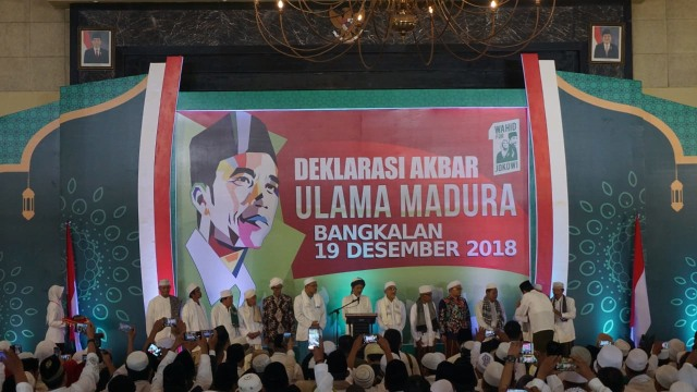 Jokowi, Ulama di Madura, Bangkalan, Capres
