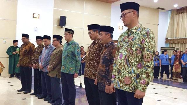 Suasana Pelantikan Anggota KRT BRTI 2018-2022