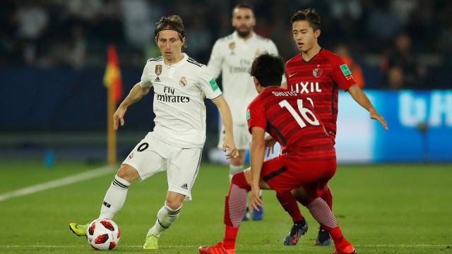Kashima vs Real Madrid