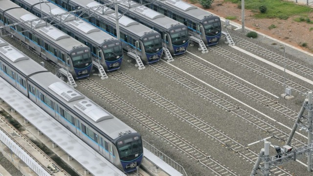 MRT Fase II Bundaran HI-Jakarta Kota Belum Punya Depo Kereta (121079)
