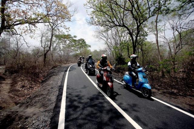 Test ride Vespa Primavera edisi spesial
