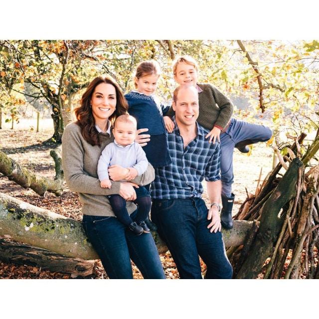 Kartu natal Pangeran William dan Kate Middleton