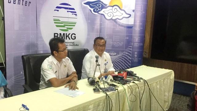 Kepala Pusat Gempabumi dan Tsunami BMKG, Rahmat Triyono