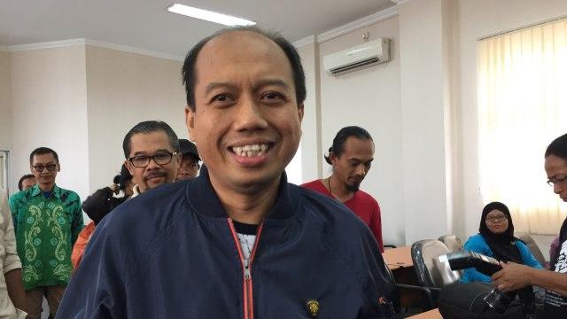 Sutopo Purwo Nugroho, konfrensi pers di Kantor BPBD, Yogyakarta