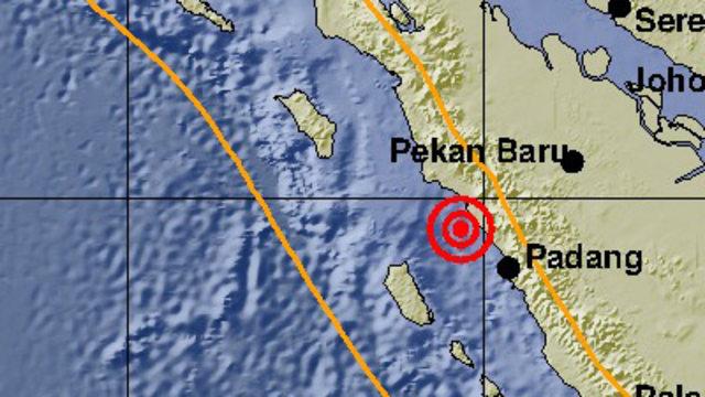Gempa 5,0 M Guncang Sumatera Barat, Tak Berpotensi Tsunami (337142)