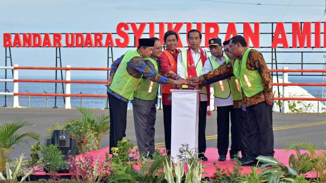 Jokowi Resmikan 4 Bandara Sekaligus di Sulawesi Tengah (741145)