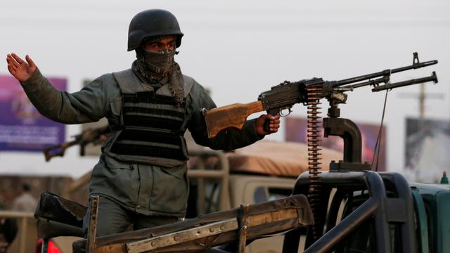 Kompleks PBB di Afghanistan Diserang, Seorang Polisi Tewas (321602)
