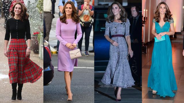 Gaya Busana Terbaik Kate Middleton di 2018