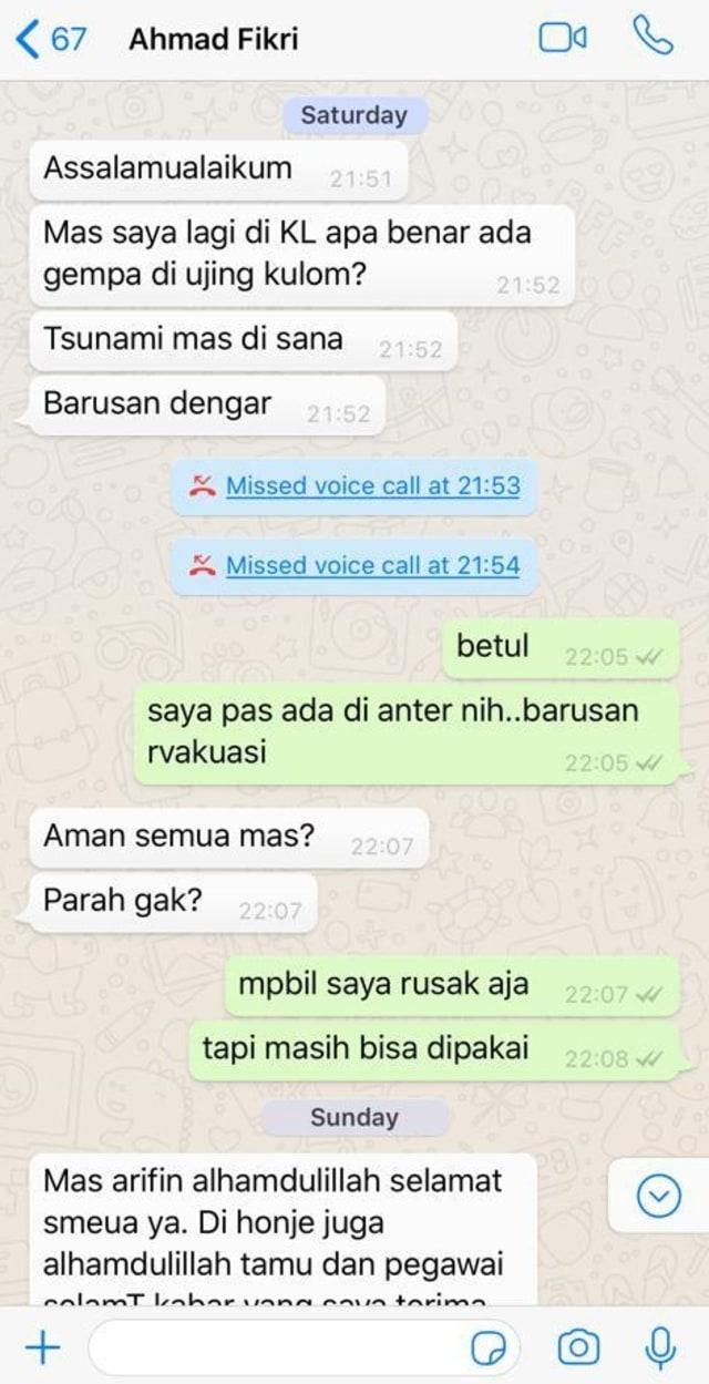 Percakapan Pemimpin Redaksi kumparan Arifin Asydhad dengan Ahmad Fikri