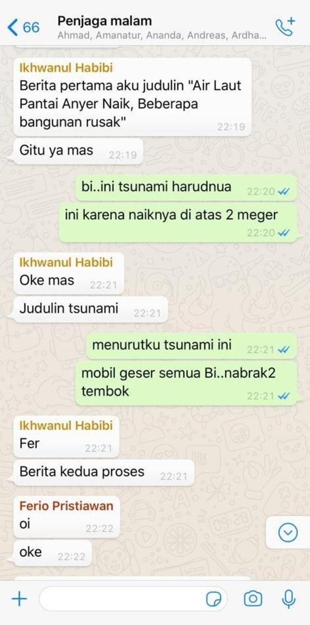 Percakapan Pemimpin Redaksi kumparan Arifin Asydhad dengan tim kumparan