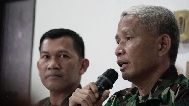 Konferensi pers terkait penembakan Anggota TNI, Media Center