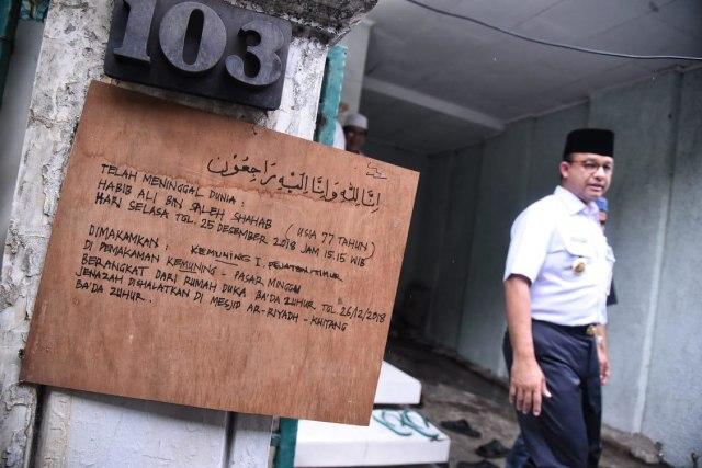 Gubernur DKI Jakarta tiba di rumah duka almarhum Ali Shahab