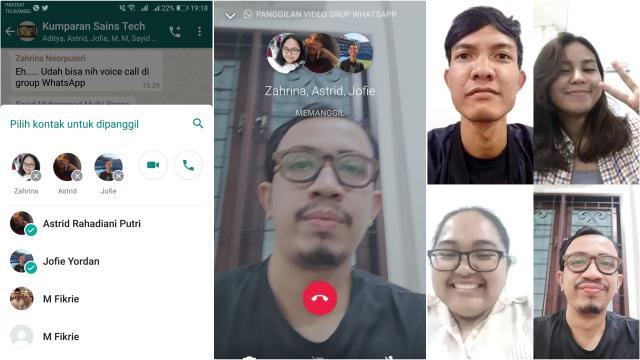 Video Call Grup WhatsApp Bakal Bisa Lebih dari 4 Orang - kumparan.com