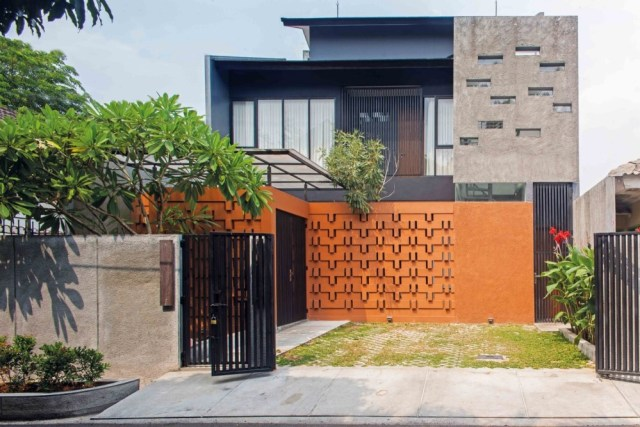 7 Desain Fasad Modern Buat Tampak Depan Rumah Tampil Menawan Kumparan Com