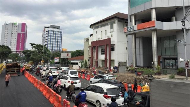 Uji coba jalan Gubeng, Jalan Gubeng merambat